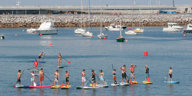 Stand Up Paddle Surf in Txingudi